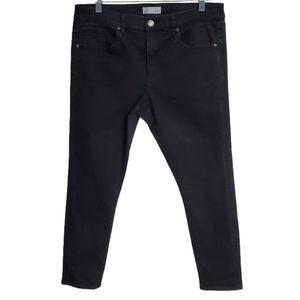 Ann Taylor Loft Skinny Straight Leg Cropped Jeans